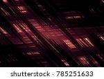 graphic background orange.... | Shutterstock . vector #785251633