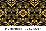 abstract background with gold... | Shutterstock . vector #785253067