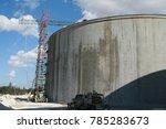 a water reservoir under... | Shutterstock . vector #785283673
