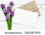 Bouquet Of Purple Wildflowers...