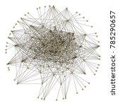 data science. beautiful graph.... | Shutterstock .eps vector #785290657