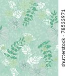 beautiful pattern floral | Shutterstock . vector #78533971
