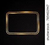 retro banner motel sign | Shutterstock .eps vector #785402947