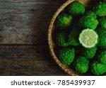 porcupine orange  kiffir lime... | Shutterstock . vector #785439937