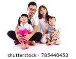 indoor portrait of a happy... | Shutterstock . vector #785440453