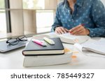 images of studying student... | Shutterstock . vector #785449327