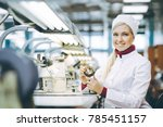 factory electronics worker | Shutterstock . vector #785451157