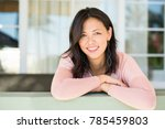middle age asian woman.   Shutterstock . vector #785459803