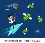 Businessman Balancing On The...