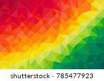 reggae color  colorful polygon...