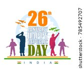 vector illustration of indian... | Shutterstock .eps vector #785492707