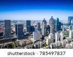 a bird's eye view of suzhou at...   Shutterstock . vector #785497837
