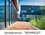 entrance of modern office... | Shutterstock . vector #785498107