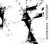 black white grunge pattern....   Shutterstock . vector #785532283