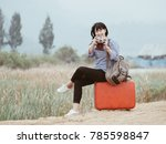 young asian beautiful woman...   Shutterstock . vector #785598847