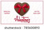 valentines day. valentines... | Shutterstock .eps vector #785600893