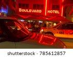 miami  usa   aug 30  2014  view ... | Shutterstock . vector #785612857