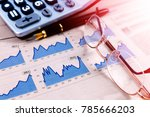economy and financial... | Shutterstock . vector #785666203