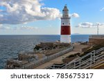 lighthouse at europa point in... | Shutterstock . vector #785675317