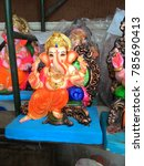 Small photo of statue of Lord Ganesha