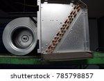 air conditioner industry type...   Shutterstock . vector #785798857