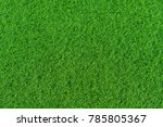 green short artificial grass | Shutterstock . vector #785805367