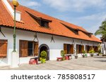 fortress sunda kalepa with... | Shutterstock . vector #785808517