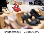 shopping in the fashion...   Shutterstock . vector #785809597