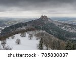 view on hohenzollern castle... | Shutterstock . vector #785830837
