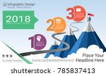 business infographics report ...   Shutterstock .eps vector #785837413