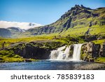 picturesque landscape of a... | Shutterstock . vector #785839183