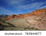 red rock canyon   erosion on... | Shutterstock . vector #785844877