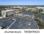 office park during spring with... | Shutterstock . vector #785849833