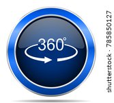 panorama 360 vector icon....   Shutterstock .eps vector #785850127