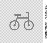 bike vector icon eps 10.... | Shutterstock .eps vector #785850157