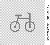 bike vector icon eps 10.... | Shutterstock .eps vector #785850157