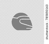 helmet vector icon eps 10.... | Shutterstock .eps vector #785850163