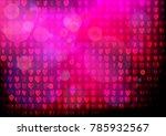 neon heart background. disco... | Shutterstock .eps vector #785932567