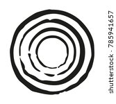 concentric circle imprints.... | Shutterstock .eps vector #785941657