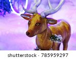 Small photo of winter season deer