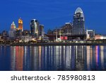 the cincinnati skyline after... | Shutterstock . vector #785980813