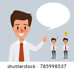 business man character in... | Shutterstock .eps vector #785998537