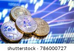 bitcoin is a new concept of...   Shutterstock . vector #786000727