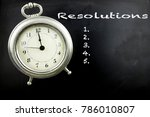 pewter antique alarm clock with ...   Shutterstock . vector #786010807