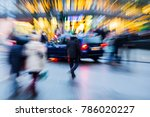 picture with camera made zoom... | Shutterstock . vector #786020227