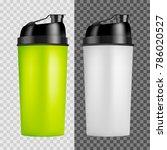 protein shaker design template. ... | Shutterstock .eps vector #786020527