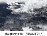 wall painting. handmade.... | Shutterstock . vector #786035047