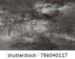 wall painting. handmade.... | Shutterstock . vector #786040117