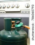 domestic accident gas cylinder...   Shutterstock . vector #786060793