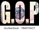gop  american politics  | Shutterstock . vector #786074617